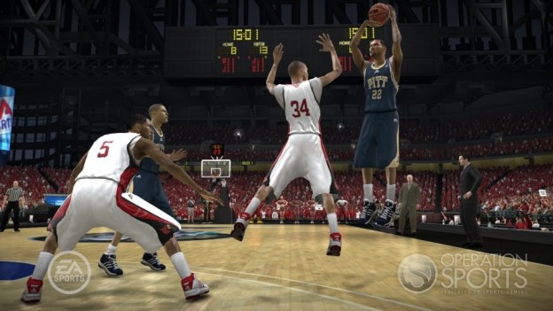 NCAA Basketball 09: March Madness Edition Screenshot #11 for Xbox 360