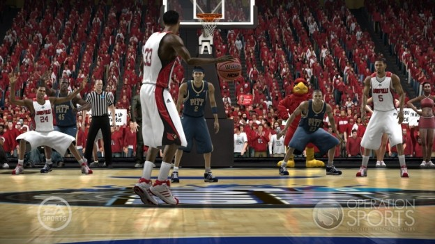 NCAA Basketball 09: March Madness Edition Screenshot #12 for Xbox 360