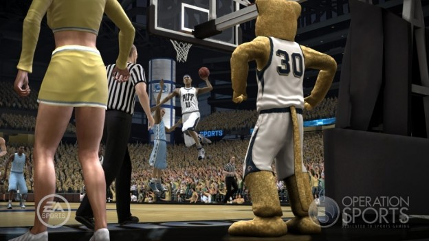 NCAA Basketball 09: March Madness Edition Screenshot #16 for Xbox 360