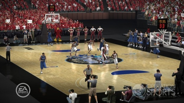 NCAA Basketball 09: March Madness Edition Screenshot #20 for Xbox 360