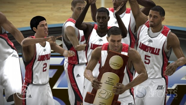 NCAA Basketball 09: March Madness Edition Screenshot #22 for Xbox 360