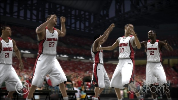 NCAA Basketball 09: March Madness Edition Screenshot #23 for Xbox 360