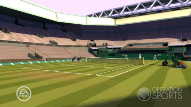 Grand Slam Tennis Screenshot #1 for Wii
