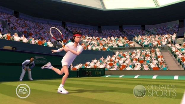Grand Slam Tennis Screenshot #4 for Wii