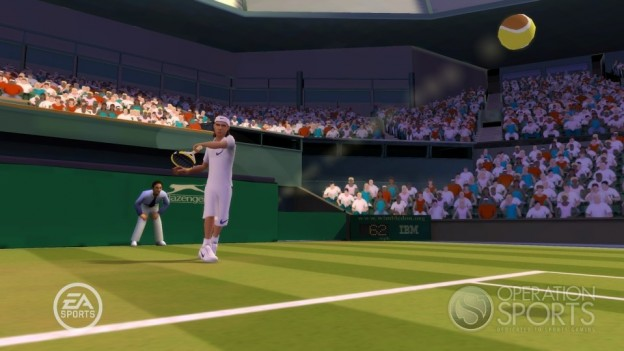 Grand Slam Tennis Screenshot #5 for Wii