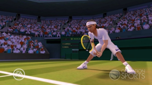 Grand Slam Tennis Screenshot #6 for Wii