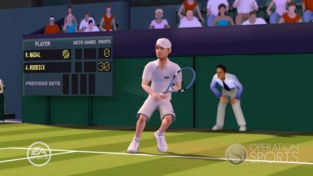 Grand Slam Tennis Screenshot #7 for Wii
