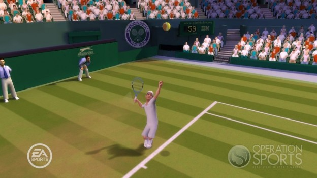 Grand Slam Tennis Screenshot #8 for Wii