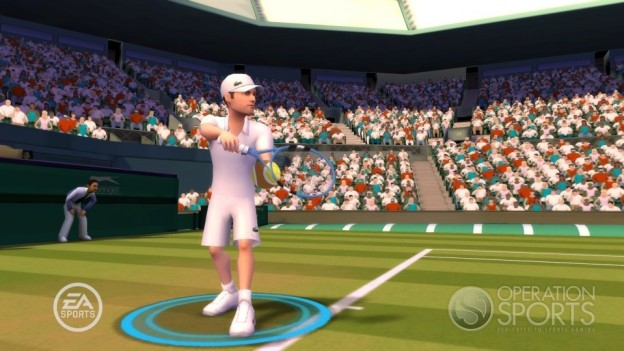 Grand Slam Tennis Screenshot #9 for Wii