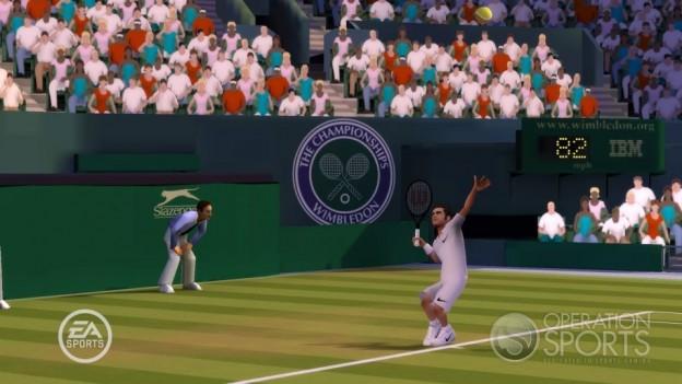 Grand Slam Tennis Screenshot #10 for Wii
