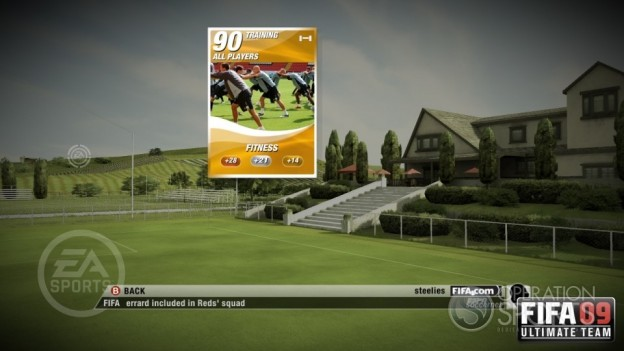 FIFA 09 Ultimate Team Screenshot #15 for Xbox 360