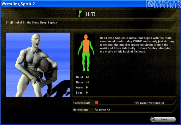 Wrestling Spirit 2 Screenshot #2 for PC