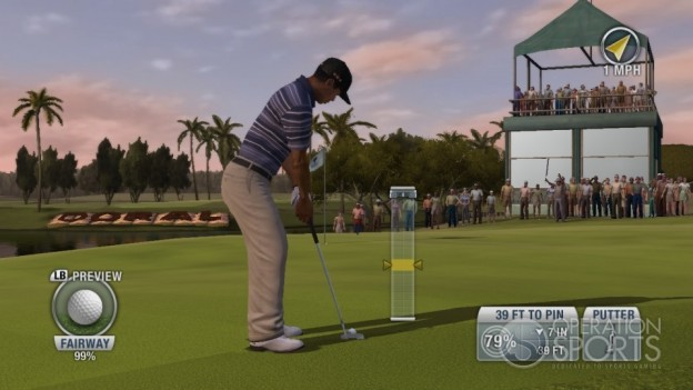 Tiger Woods PGA TOUR 10 Screenshot #2 for Xbox 360