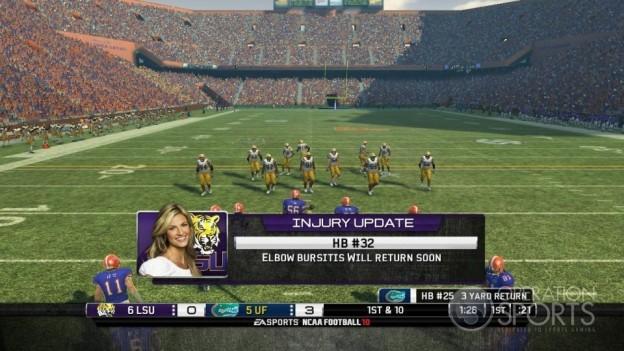 NCAA Football 10 Screenshot #25 for Xbox 360