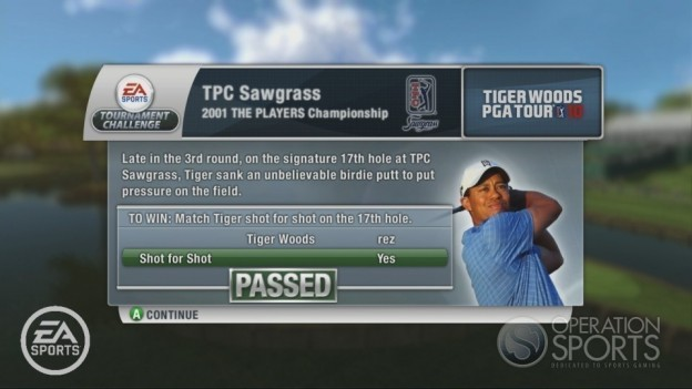 Tiger Woods PGA TOUR 10 Screenshot #8 for Xbox 360