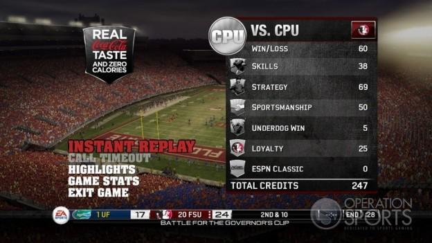 NCAA Football 10 Screenshot #36 for Xbox 360
