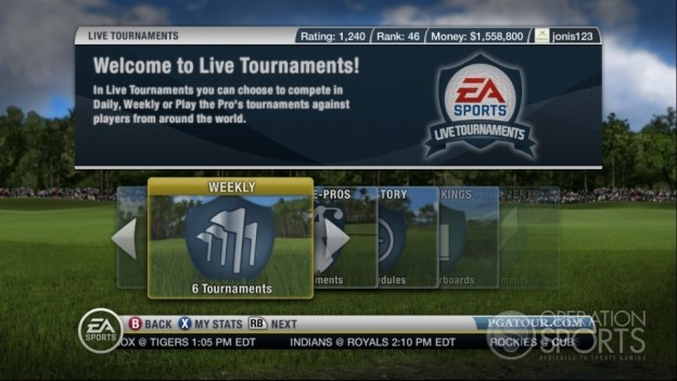 Tiger Woods PGA TOUR 10 Screenshot #12 for Xbox 360