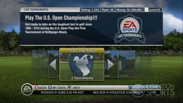 Tiger Woods PGA TOUR 10 Screenshot #13 for Xbox 360