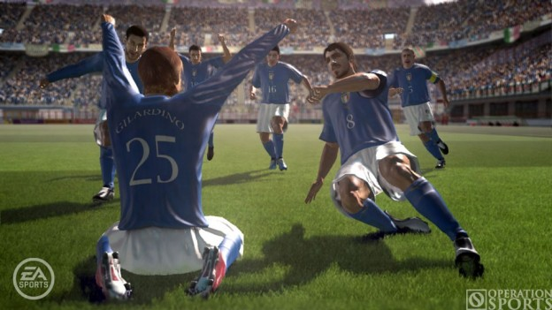 FIFA 06: Road to FIFA World Cup Screenshot #2 for Xbox 360