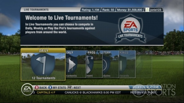 Tiger Woods PGA TOUR 10 Screenshot #16 for Xbox 360