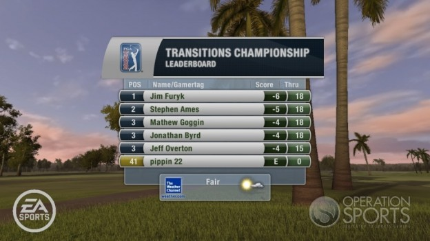 Tiger Woods PGA TOUR 10 Screenshot #19 for Xbox 360