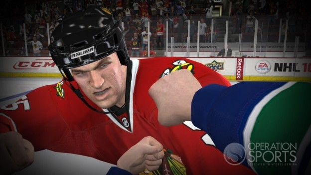 NHL 10 Screenshot #1 for Xbox 360