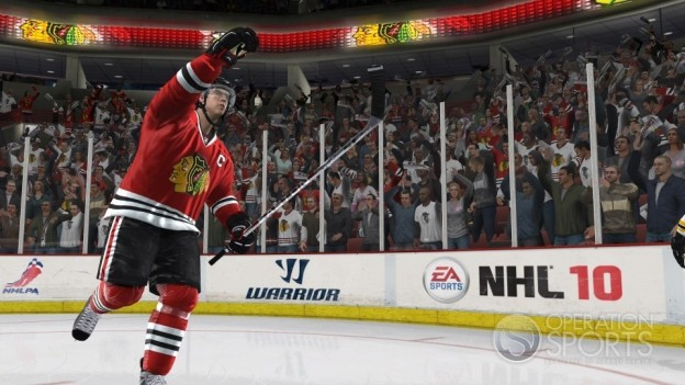 NHL 10 Screenshot #2 for Xbox 360