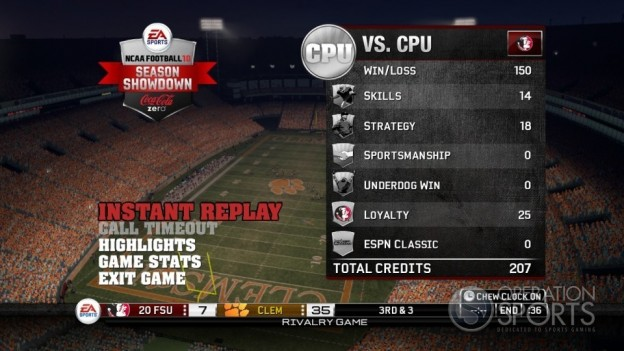NCAA Football 10 Screenshot #48 for Xbox 360