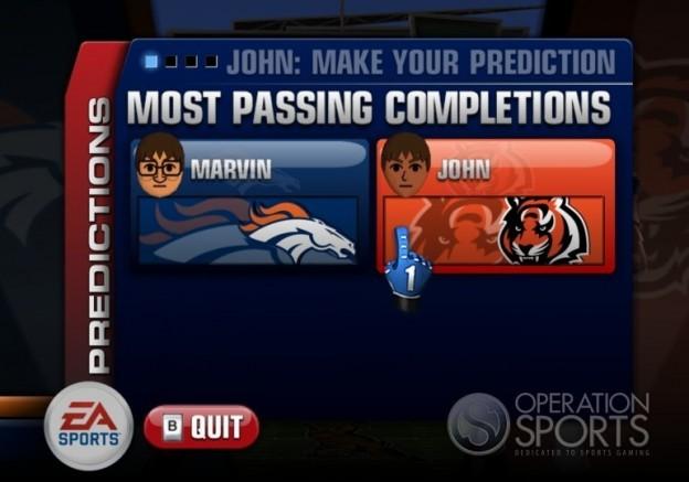 Madden NFL 10 Screenshot #16 for Wii