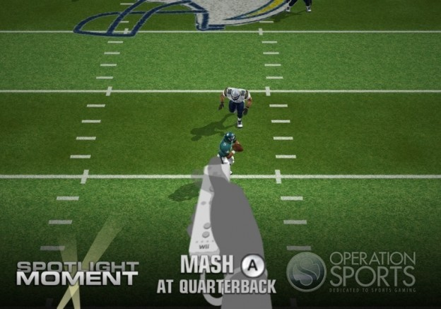 Madden NFL 10 Screenshot #24 for Wii