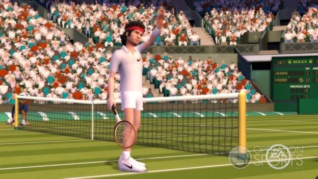 Grand Slam Tennis Screenshot #34 for Wii
