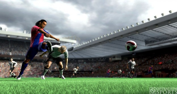 FIFA Soccer 07 Screenshot #1 for Xbox 360