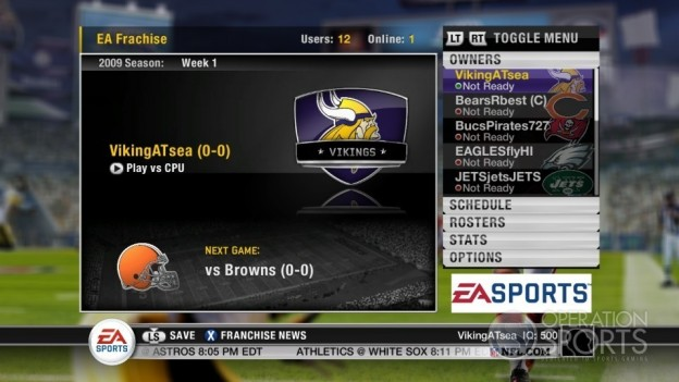 Madden NFL 10 Screenshot #59 for Xbox 360