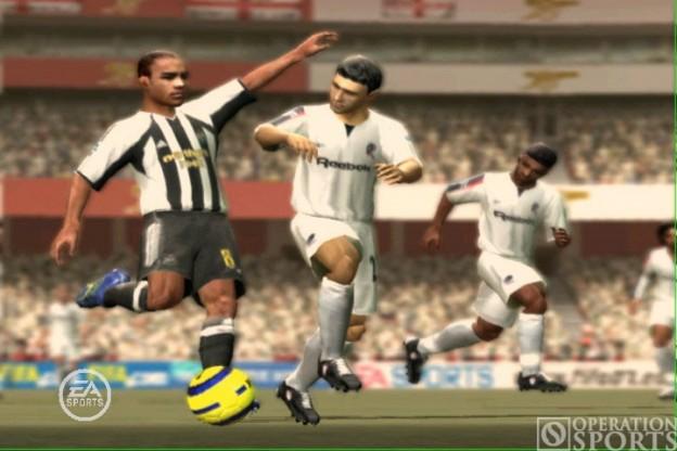 FIFA Soccer 07 Screenshot #1 for PS2