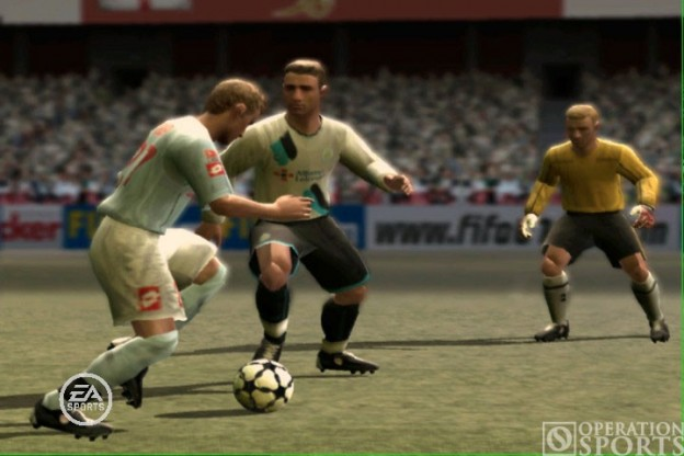 FIFA Soccer 07 Screenshot #2 for PS2
