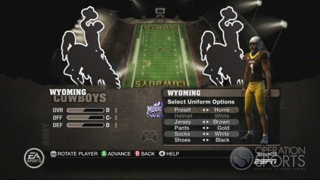 NCAA Football 10 Screenshot #57 for Xbox 360