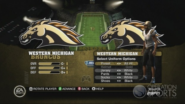 NCAA Football 10 Screenshot #61 for Xbox 360