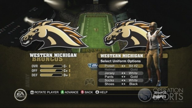 NCAA Football 10 Screenshot #63 for Xbox 360