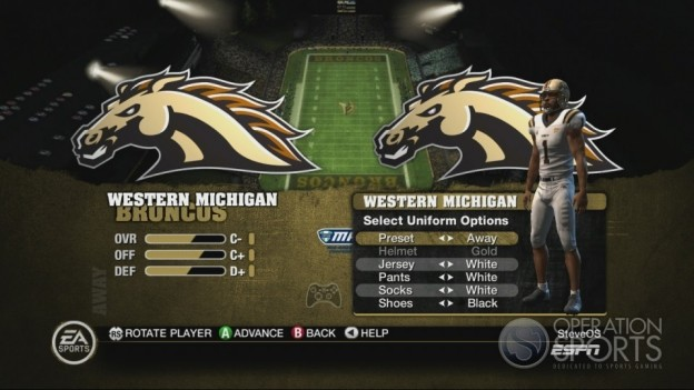 NCAA Football 10 Screenshot #65 for Xbox 360
