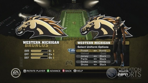 NCAA Football 10 Screenshot #66 for Xbox 360