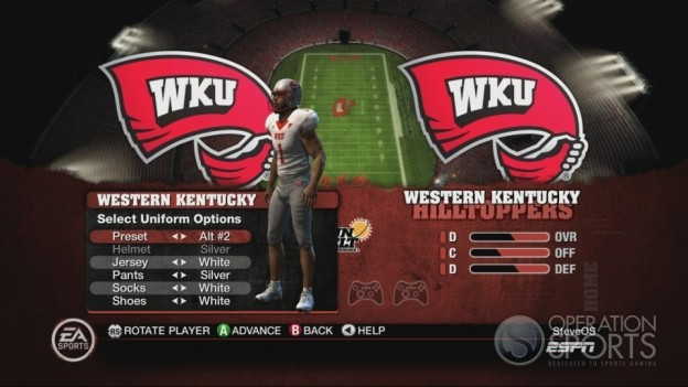 NCAA Football 10 Screenshot #68 for Xbox 360