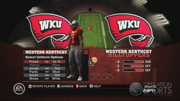 NCAA Football 10 Screenshot #69 for Xbox 360