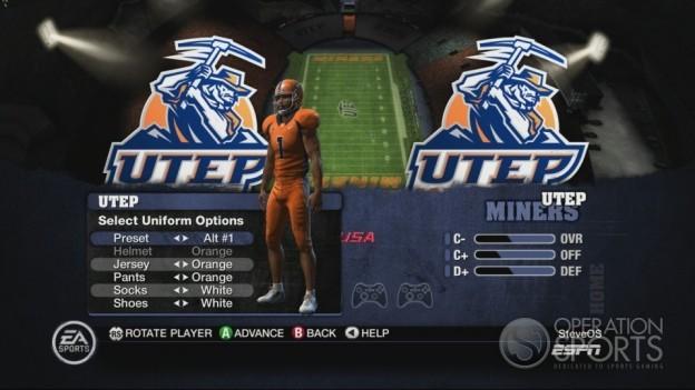 NCAA Football 10 Screenshot #109 for Xbox 360