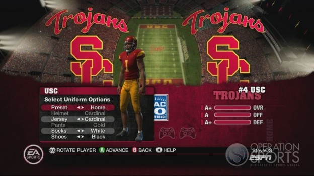 NCAA Football 10 Screenshot #121 for Xbox 360