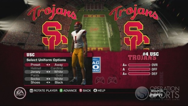 NCAA Football 10 Screenshot #122 for Xbox 360
