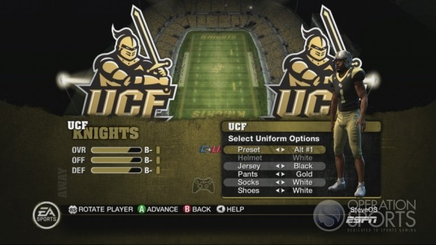 NCAA Football 10 Screenshot #134 for Xbox 360