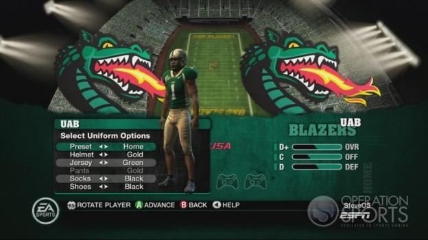 NCAA Football 10 Screenshot #137 for Xbox 360