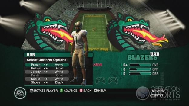 NCAA Football 10 Screenshot #138 for Xbox 360