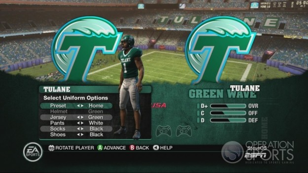 NCAA Football 10 Screenshot #142 for Xbox 360