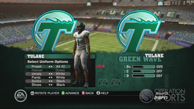 NCAA Football 10 Screenshot #143 for Xbox 360